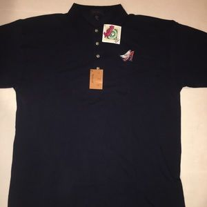 Brand New W/ Tags Vintage MLB Angels Collar Shirt
